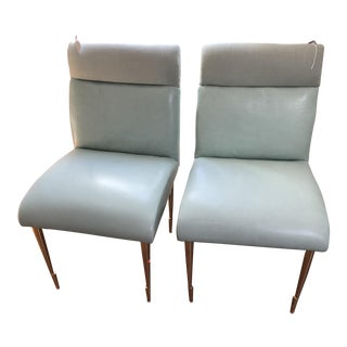 Contemporary Anthropologie Dining Chairs - A Pair