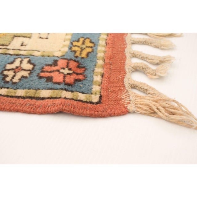 Hand-Knotted Turkish Rug For Sale - Image 4 of 9