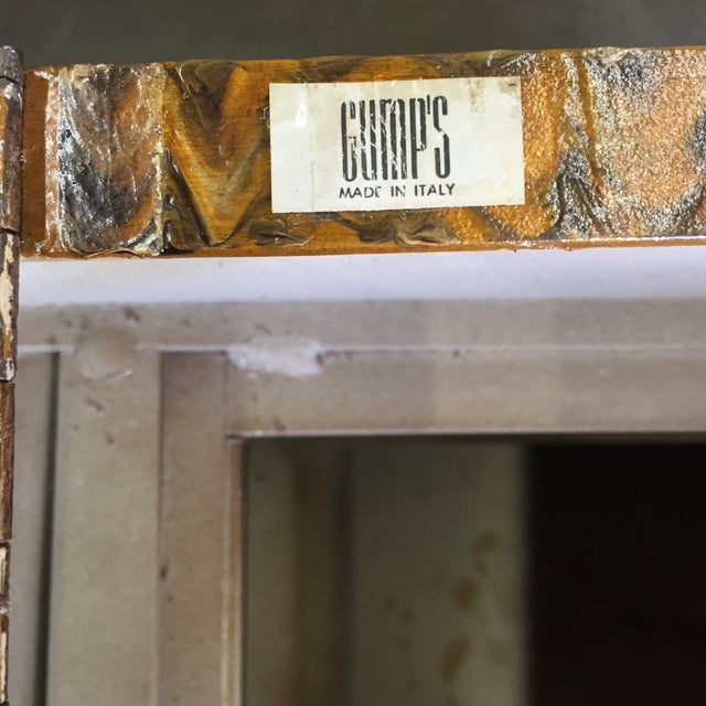 Gumps Italian Tole End Table For Sale - Image 4 of 7