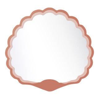 Fleur Home x Chairish Carnival Proteus Mirror in Red Earth, 36x33 For Sale