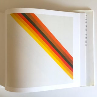 """Vintage 1st Edtn """"Morris Louis Moma"""" Collector's Abstract Expressionist Art Book, 1986 Preview"""