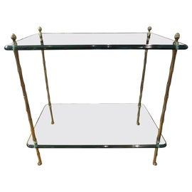 Image of Faux Bamboo Side Tables