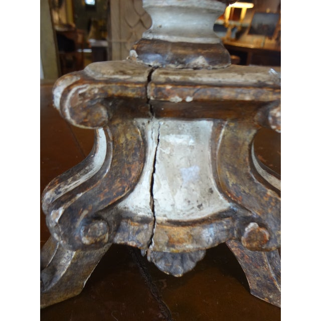 19th Century Italian Candle Holder, Pair - Image 3 of 10