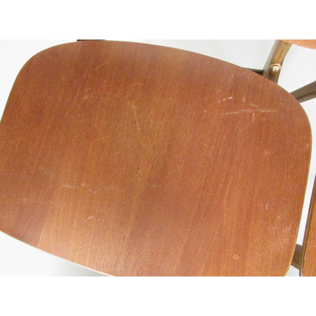 Mid-Century Børge Mogensen Dining Chairs, Model 155 For Sale In New York - Image 6 of 11