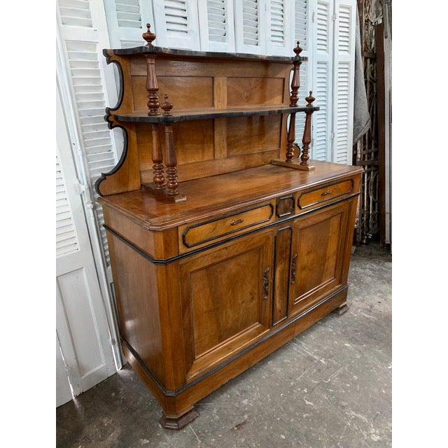 French Provincial 19th Century French Country Buffet For Sale - Image 3 of 9
