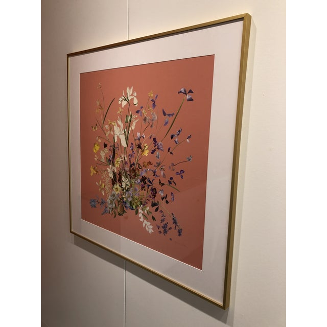 2020s Meadow Floral Collage by Marcy Cook, Framed For Sale - Image 5 of 9
