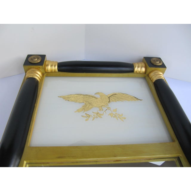Federal-Style Eagle Crest Mirror For Sale - Image 4 of 6