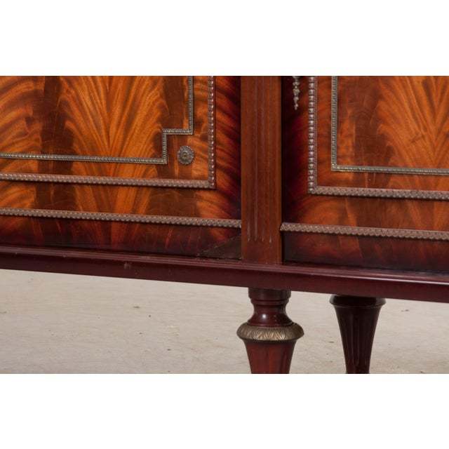 Metal French Vintage Louis XVI-Style Enfilade For Sale - Image 7 of 12