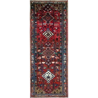 "Vintage Persian Hamadan Rug – Size: 2' 8"" X 6' 8"" For Sale"