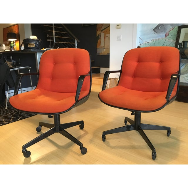 """Steelcase Rolling """"Pollack"""" Swivel Office Chairs - Image 3 of 11"""