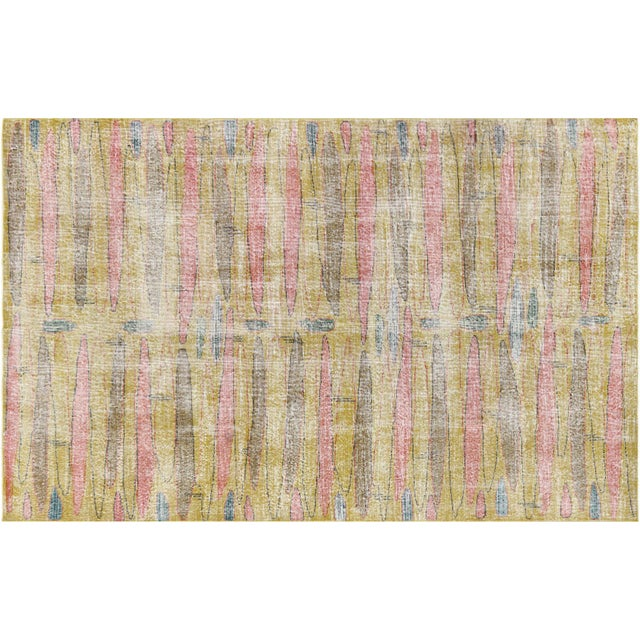 1960s Turkish Mid Century Modern Rug For Sale In Los Angeles - Image 6 of 6