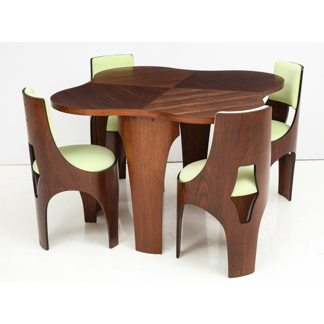 Henry Glass Cylindra Dining Set For Sale - Image 13 of 13
