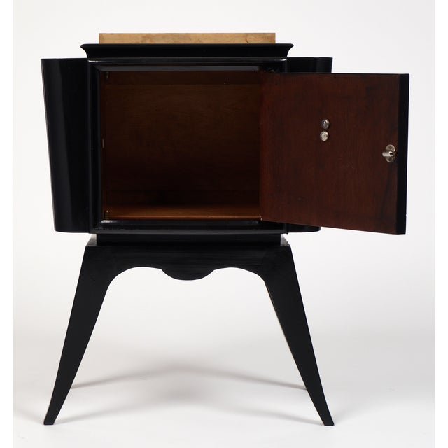 André Arbus-Style Art Deco Nightstands - A Pair - Image 4 of 10