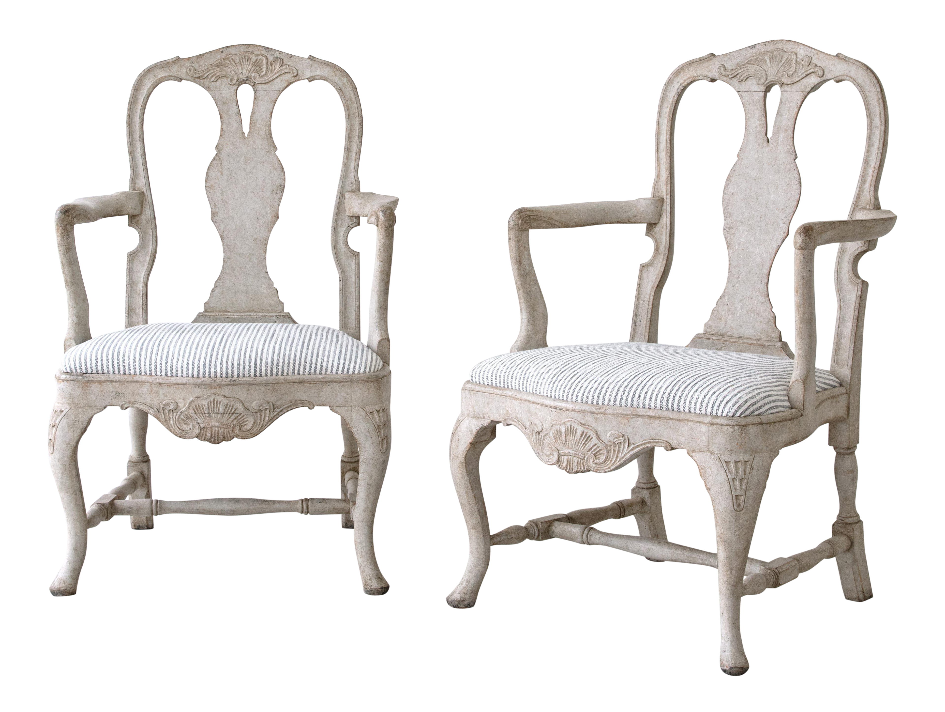 swedish style dining chairs pair of richly carved 19th century swedish rococo armchairs for sale antique designer dining chairs decaso