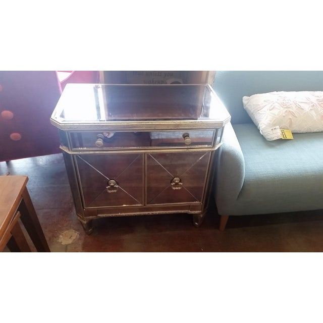 Borghese Mirrored Nightstand - Image 2 of 5