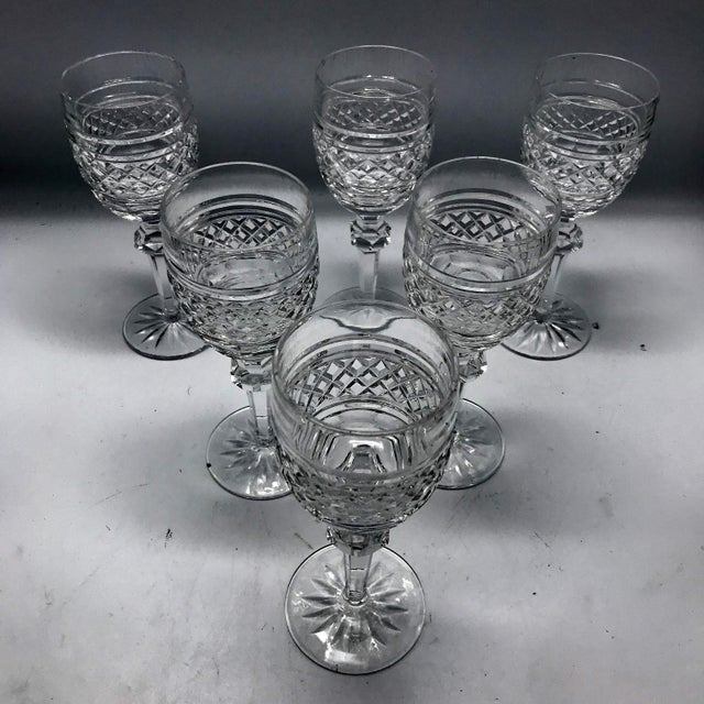 Waterford in Rare Archive Castletown Pattern Crystal Glasses - 18 Pieces For Sale - Image 9 of 11