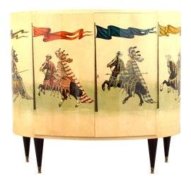 Image of Tan Bar Carts and Dry Bars