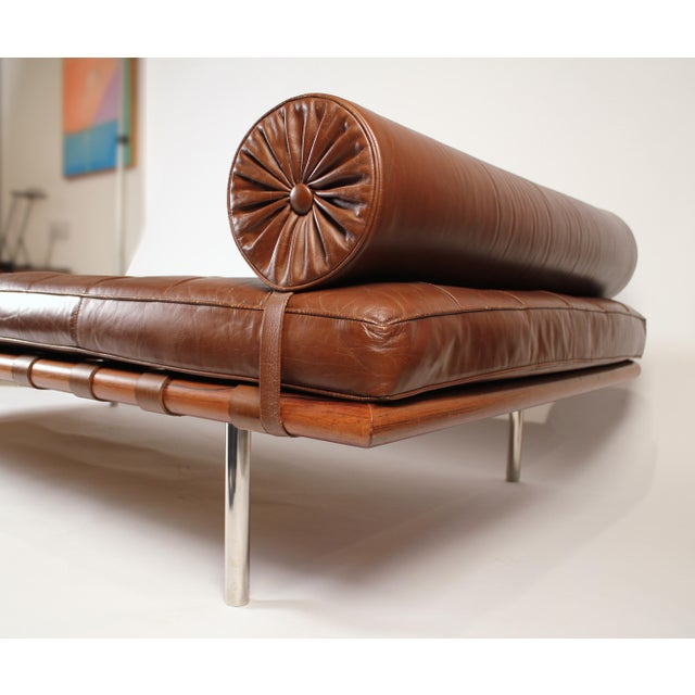 Early Production, Rosewood Daybed Designed by Ludwig Mies Van Der Rohe For Sale In Dallas - Image 6 of 11