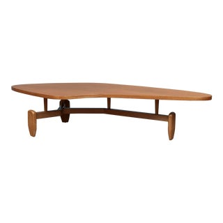 John Keal Outrigger Coffee Table for Brown Saltman For Sale