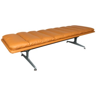 Bench Leather by Geoffrey D. Harcourt for Artifort, Netherlands, 1970s For Sale