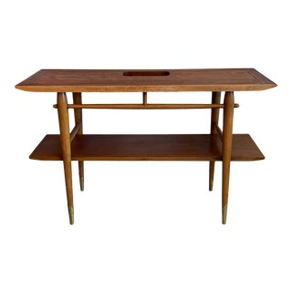 """Mid-Century Modern Console Table by Lane From the """"Copenhagen"""" Collection For Sale"""