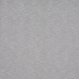 Schumacher Garter Stripe Indoor/Outdoor Fabric in Slate For Sale