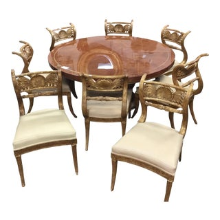 Maitland Smith Round Dining Set
