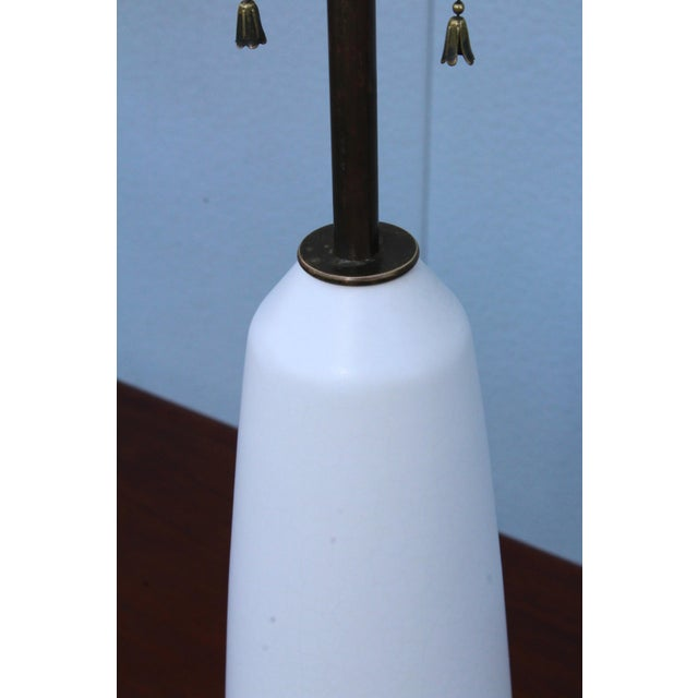 Metal Stewart Ross James Attributed Modernist Table Lamp For Sale - Image 7 of 11