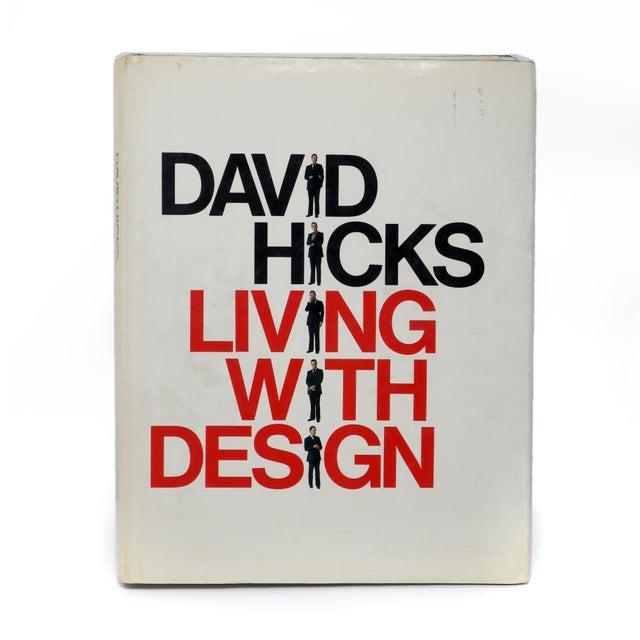 "Black David Hicks ""Living With Design"" Book For Sale - Image 8 of 8"