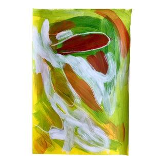 "Jessalin Beutler ""No. 75"" Mixed Media Painting"