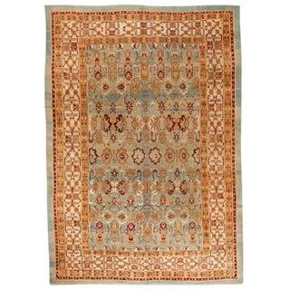 Exceptional 19th Century Antique Agra Carpet For Sale
