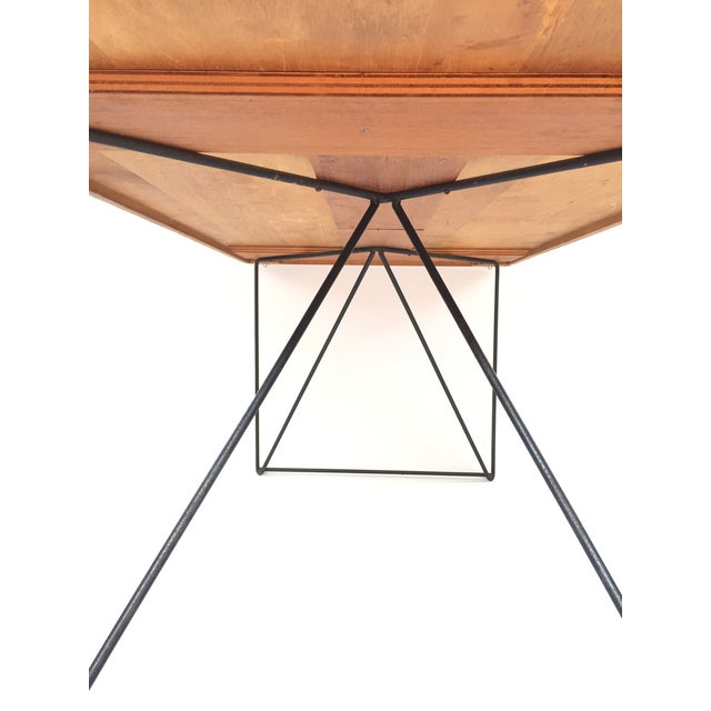 Luther Conover Mahogany and Iron Table, 1950 For Sale In San Francisco - Image 6 of 11