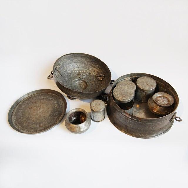 Antique Copper Chapati Box For Sale - Image 4 of 4