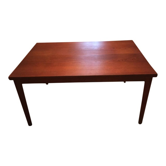Extendable Teak Dining Table - Image 1 of 3