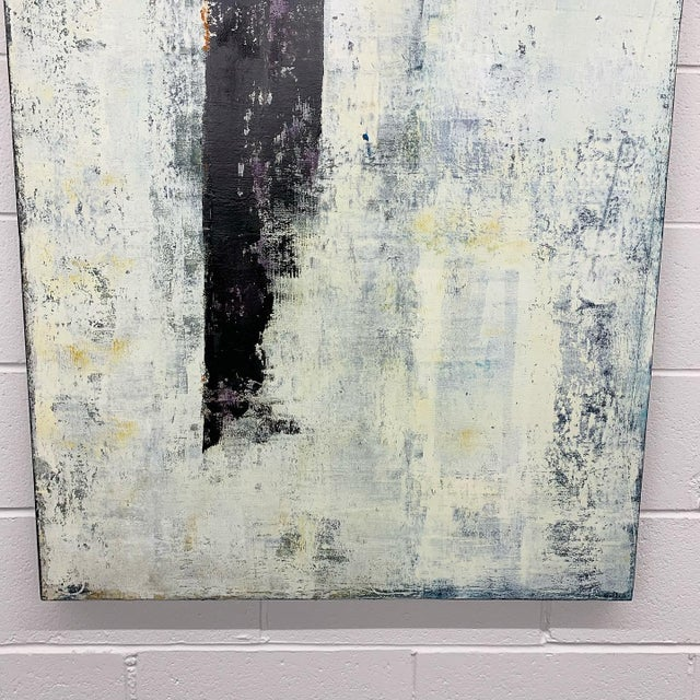 """Original Oil Painting Titled, """"Winter Prolepsis,"""" by Marceau Verdiere For Sale - Image 6 of 10"""