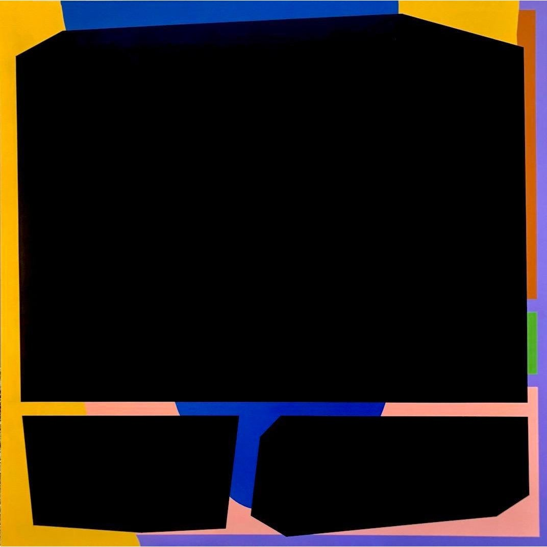 Abstract Color Block Painting Chairish