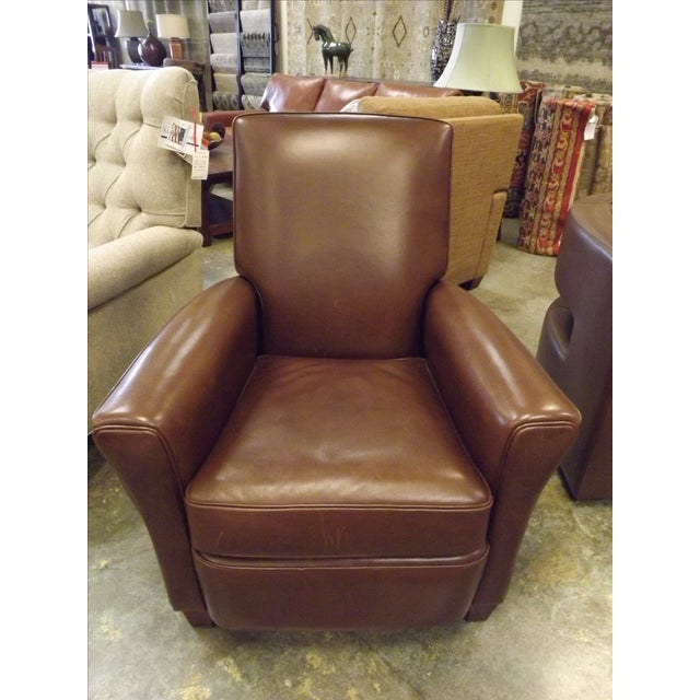 American Leather Lincoln Recliner Chair - Image 2 of 8