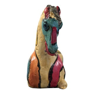 "1980s Abstract ""Horse Sculpture""by Peter Keil For Sale"