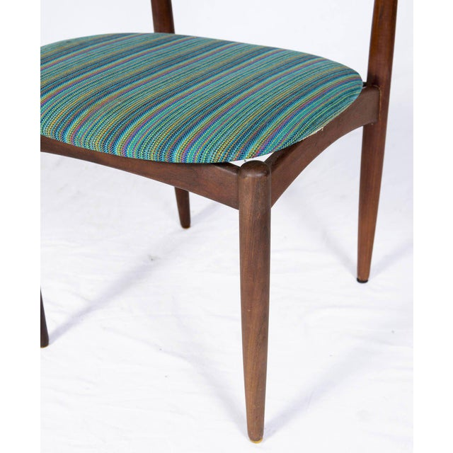 Wood Set of Four Danish Dining Chairs For Sale - Image 7 of 10