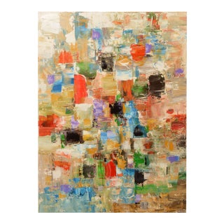 """""""Rush Hour"""" Abstract Painting For Sale"""