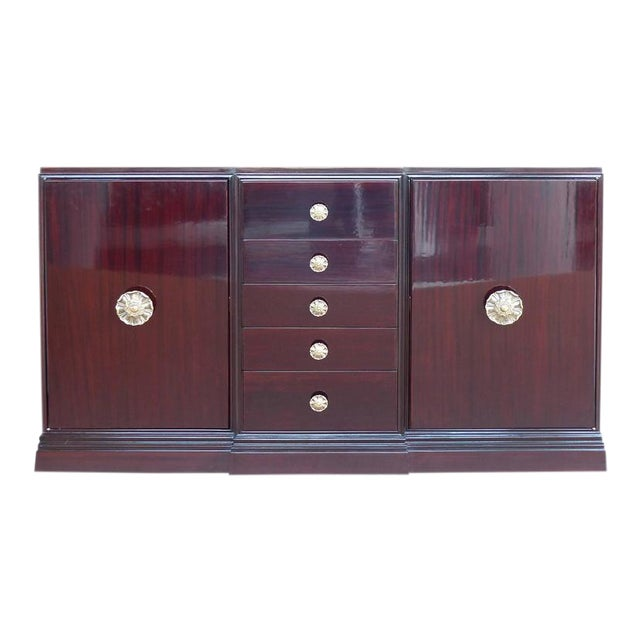 Hollywood Regency Tommi Parzinger Charak Modern Buffet For Sale