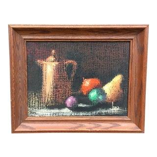 Italian Still Life Original Oil Painting For Sale