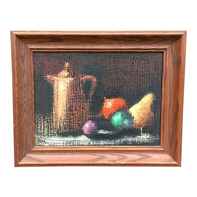 Italian Still Life Original Oil Painting For Sale