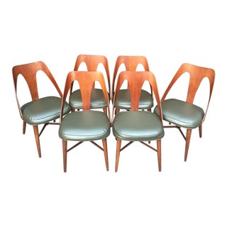Nemschoff for Peabody MCM Arched Back Chairs - Set of 6