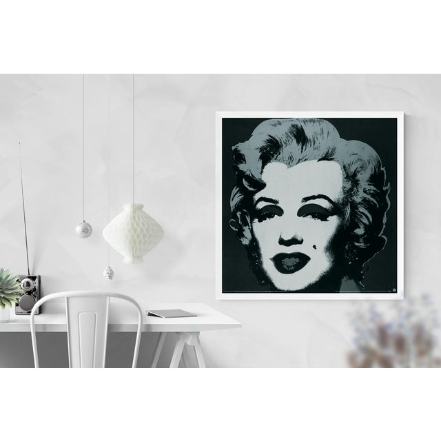 Andy Warhol Andy Warhol-Marilyn Black #24-1989 Poster For Sale - Image 4 of 4