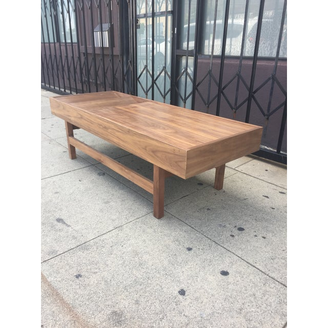 """Custom Handcrafted """"Rosa"""" Coffee Table For Sale - Image 9 of 13"""