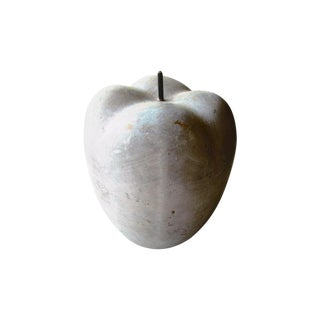 Modern Concrete Apple Figurine For Sale
