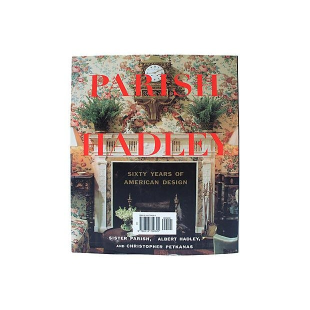 "Contemporary First Edition Signed ""Parish-Hadley Sixty Years of American Design"" Book For Sale - Image 3 of 5"