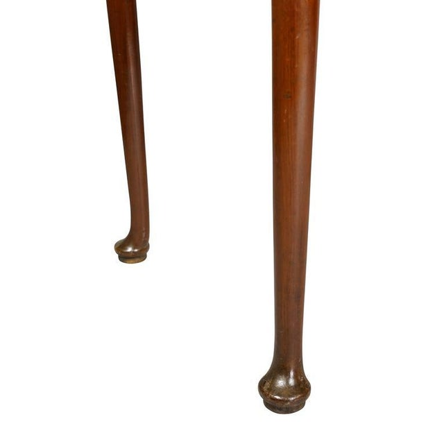 Brown Queen Anne Style Mahogany Games Table For Sale - Image 8 of 10