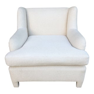1980s Vintage Upholstered Club Chair